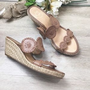 Jack Rogers Shelby Espadrille Wedge Sandals